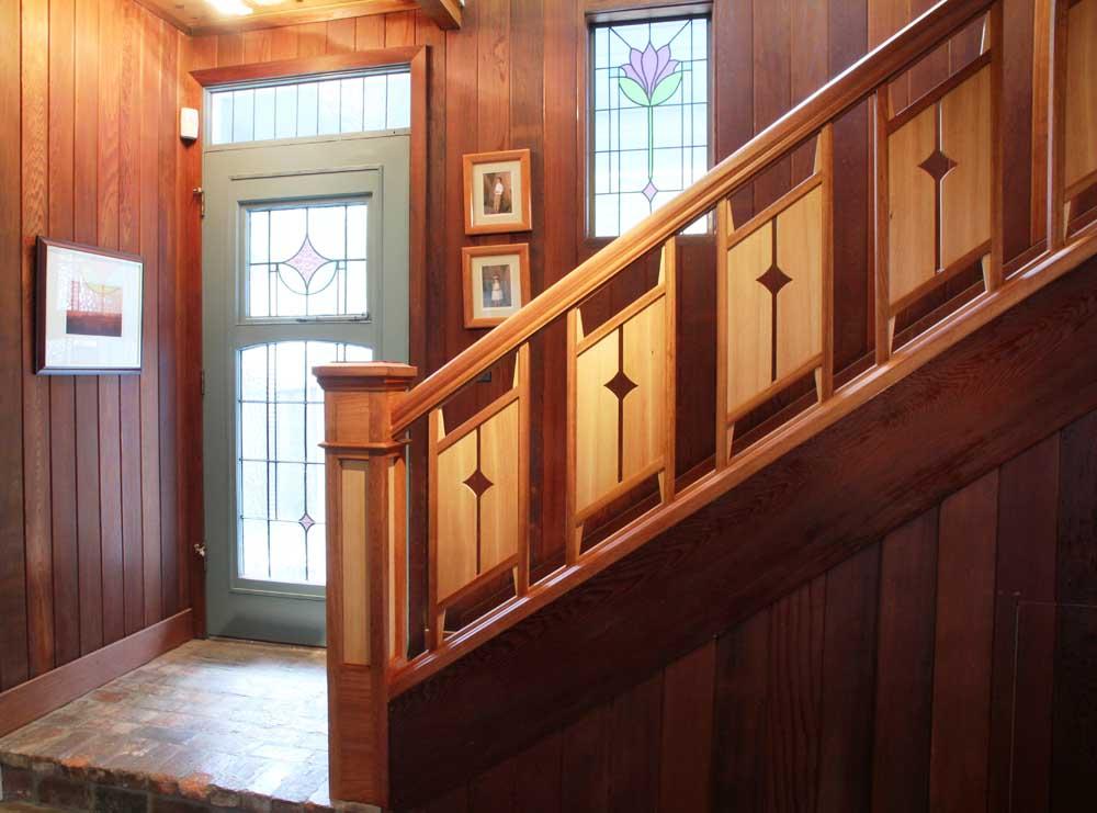 Best Hunter Charmaine Tiffany Craftsman Ceiling Fan Model 28425 400 x 300
